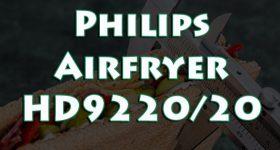 Philips Airfryer HD9220/20: Freidora Aire Caliente