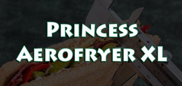 Freidora Sin Aceite Princess Aerofryer XL