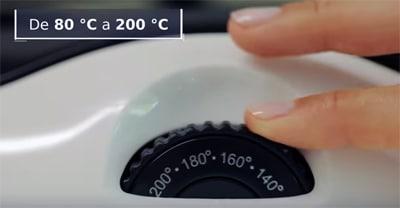 termostato freidora saludable lidl