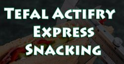 Tefal Actifry Express Snacking: Freidora Sin Aceite