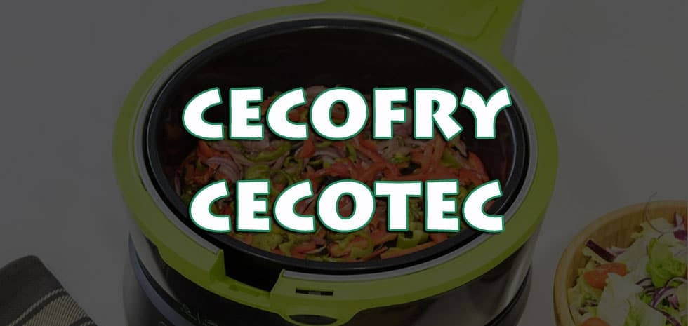 cecofry olievrije friteuse