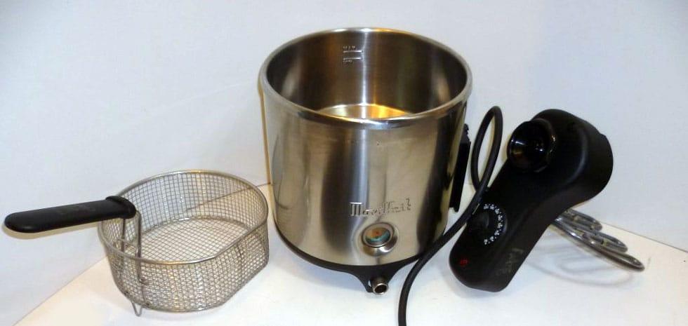 movilfrit lux 5 Öl- und Wasserfritteuse