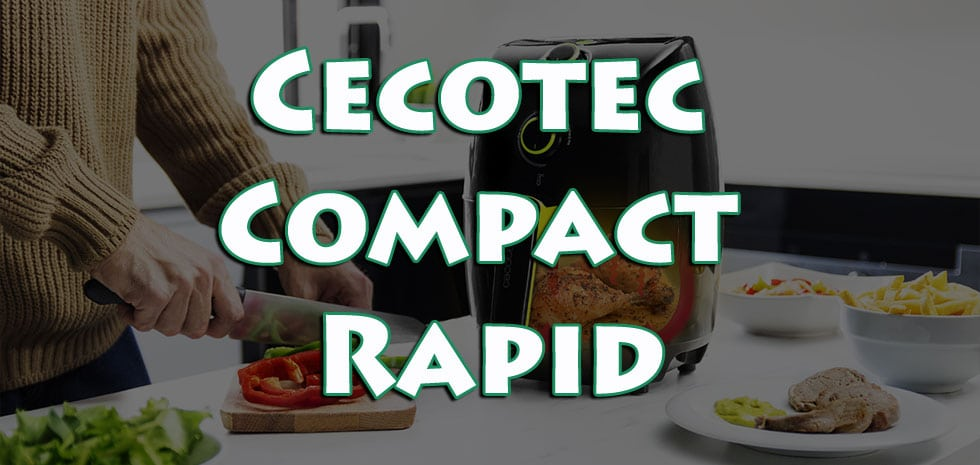 cecotec cecofry compact snelle frituurpan zonder olie